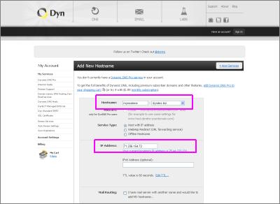 neatComponents - Dynamic IP Address