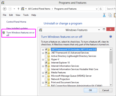 Enable SMTP on Windows 7 & Windows 8